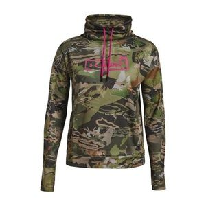 New Under Armour Forest Camo Hunting Sweatshirt L